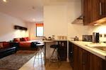 King Square Studios Student Accommodation Bristol large plus Studio room kitchen