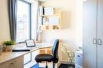 Personal desk area