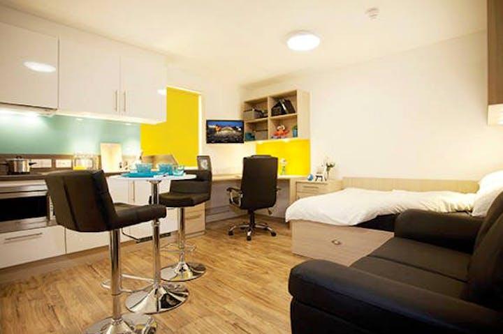 Iron Bridge Studios Student Accommodation Exeter Studio Room