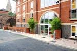 Outside Iron Bridge Studios Student Accommodation Exeter