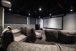 In-house cinema room
