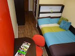 Collegelands Student Accommodation Glasgow Bedroom