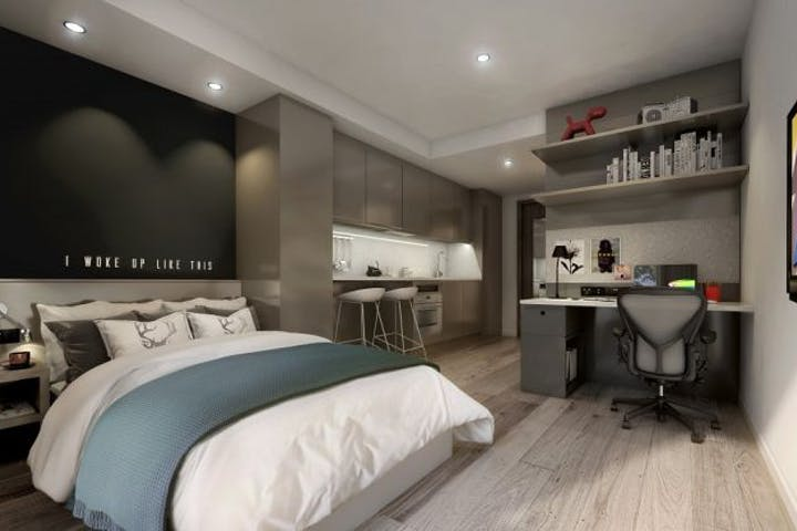 Studio apartment at Vita Student Glasgow