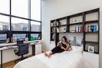 Penthouse studio apartment