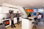 St Pancras en-suite duplex kitchen