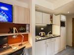 Bronze studio kitchen