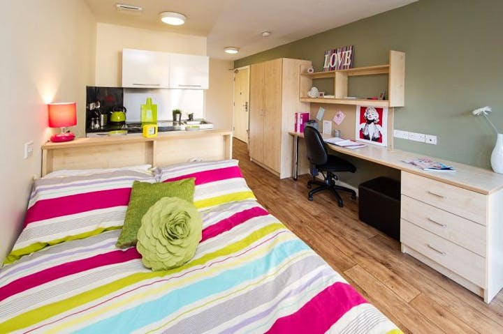 Student Accommodation Optima Loughborough Bedroom