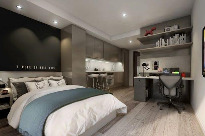 Studio apartment at Vita Student Newcastle