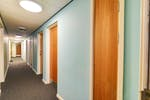 Axo Islington Corridor 2_cluster flats_flat doors