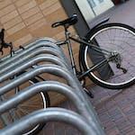 The Village Bike Racks Close up