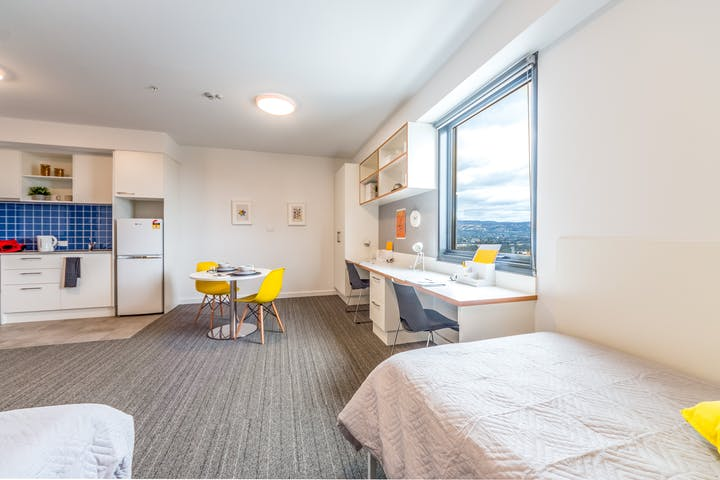 dwell East End Adelaide - Deluxe Twin Share Studio 05-min