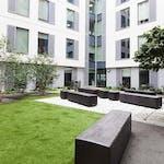 Copy of outdoor courtyard