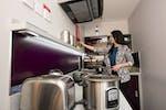 En-suite Platinum kitchen