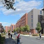 Weyside-Student-Village-Street-view