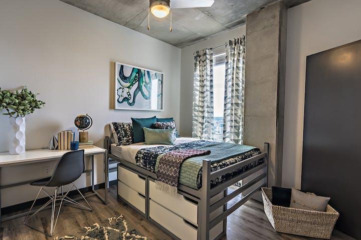 Bedroom 5Signature 1909 - Luxury Off-Campus Apartments Near University of Texas Austin UT - 1909 Rio Grande Street